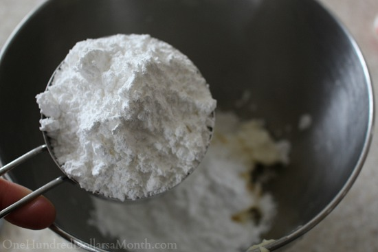 powered sugar