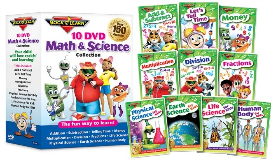 rock and learn dvd