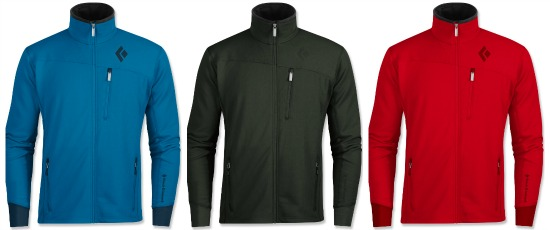 black diamond fleece jacket