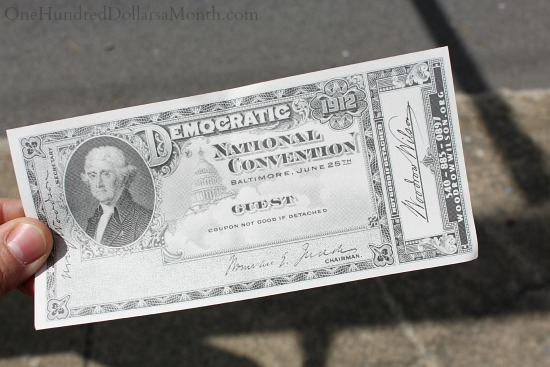 democratic national convention 1912 ticket