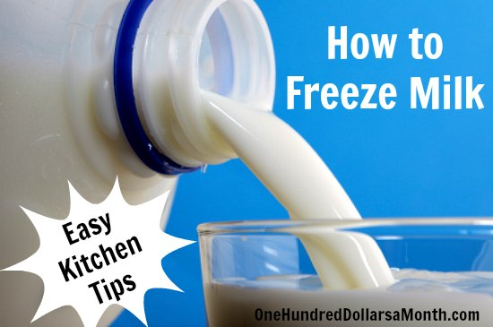 how-to-freeze-milk