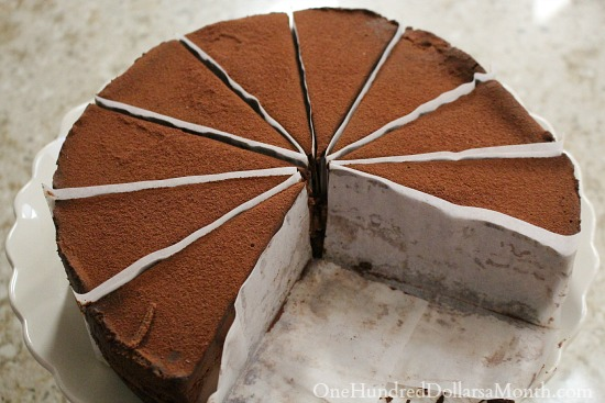 Godiva chocolate cheesecake