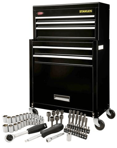 stanley tool set with chest