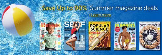 amazon magazine deals