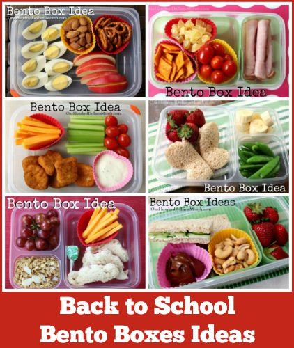 Bento Boxes Ideas