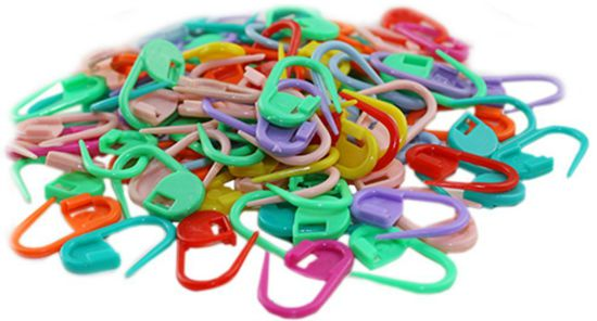 knitting clips