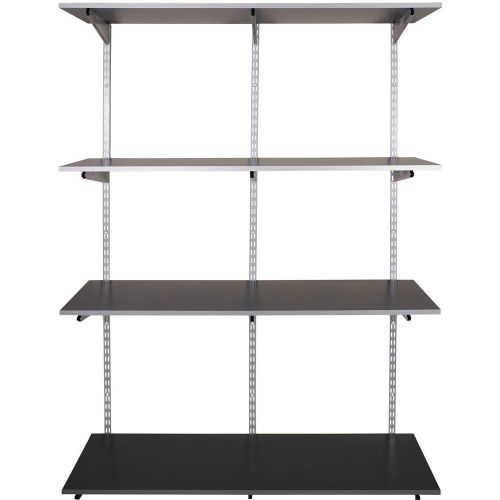 rubbermaid storage shelving
