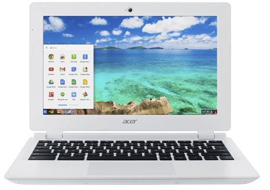 Acer - 11.6 Chromebook - Intel Celeron - 2GB Memory - 16GB eMMC Flash Memory - Moonstone White