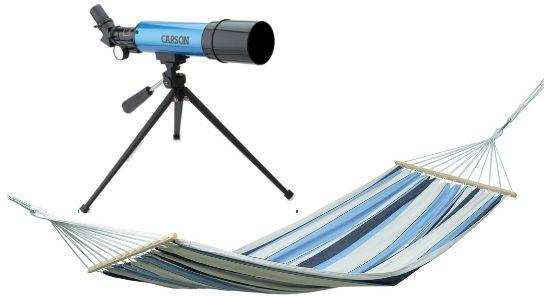 Carson Aim 50mm Refractor Telescope