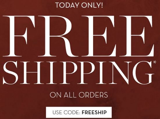 pottery barn free shipping
