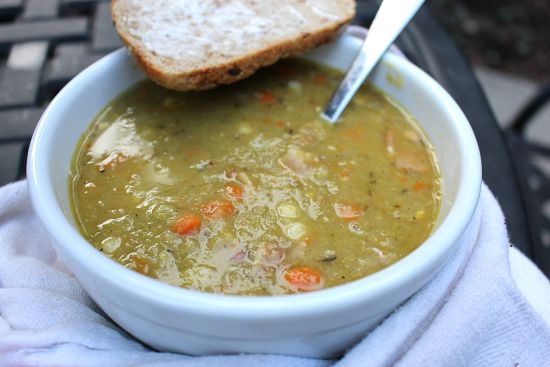 split pea and ham soup