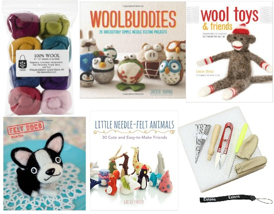 wool felt kit woolbuddies