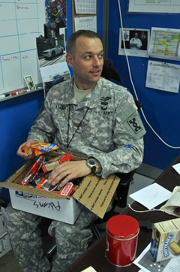 Holiday Care Packages for Soldiers