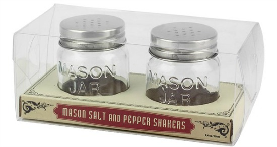 mason jar salt and pepper jars
