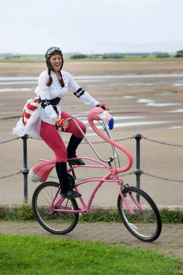 flamingo bike