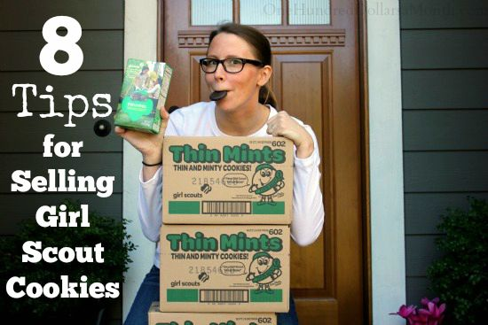 8 Tips for Selling Girl Scout Cookies