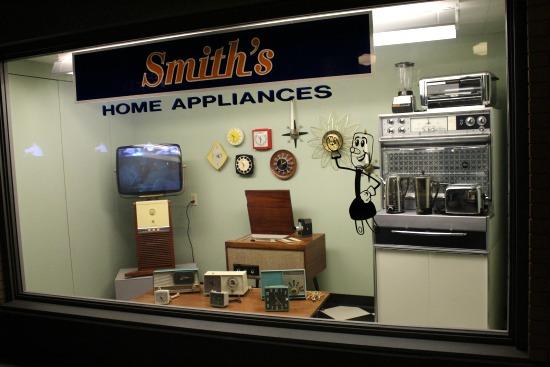 1950s oven tv clock