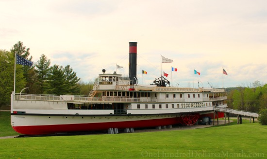Ticonderoga Steamboat