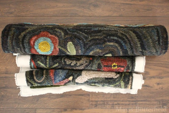 primitive rug hooking patterns