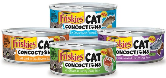 -Purina Friskies Cat Concoctions coupon