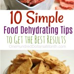 10 Tips for Dehydrating Your Food