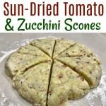 Sun-Dried Tomato and Zucchini Scones