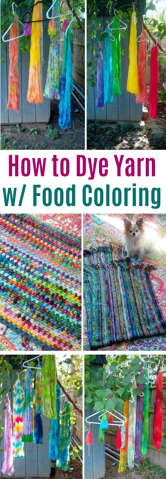 Show Me Your Hobby - Vicki Shares How She Dyes Yarn with Food ...