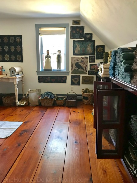 Setting Up My New Rug Hooking And Wool Studio Space One