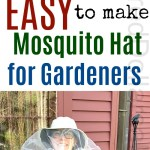 Mama Hillbilly Saves the Day with Her DIY Mosquito Hat for Gardeners