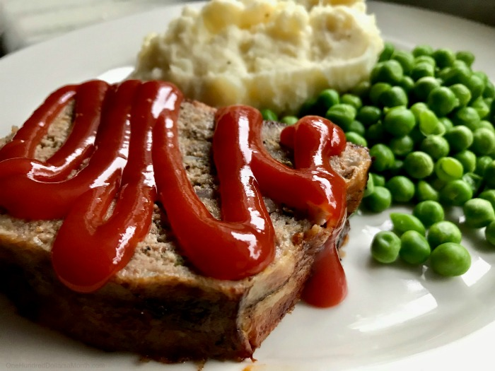 Christmas Meatloaf.Bacon Wrapped Meatloaf Recipe One Hundred Dollars A Month