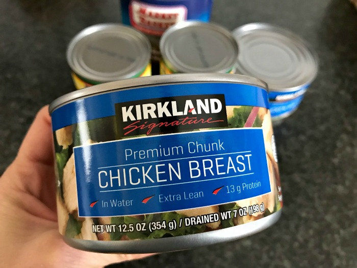 Easy Chicken Chili Recipe Made With Costco Canned Chicken One Hundred Dollars A Month