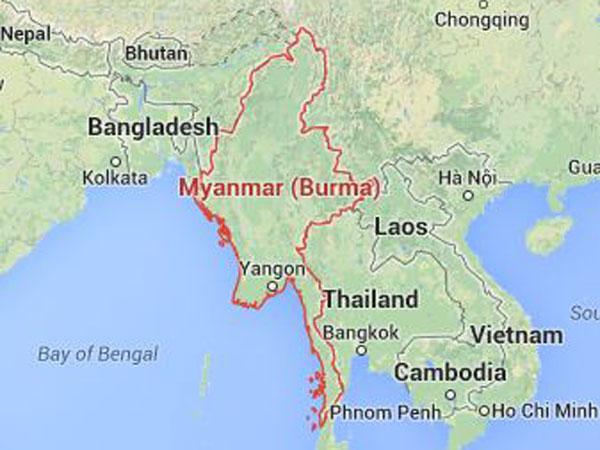 Image result for map bangladesh myanmar rohingya