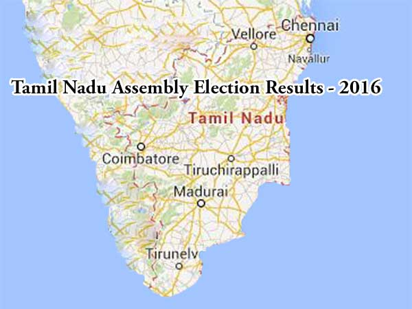 Tamil Nadu Assembly Election Results (Updates): ADMK wins ...