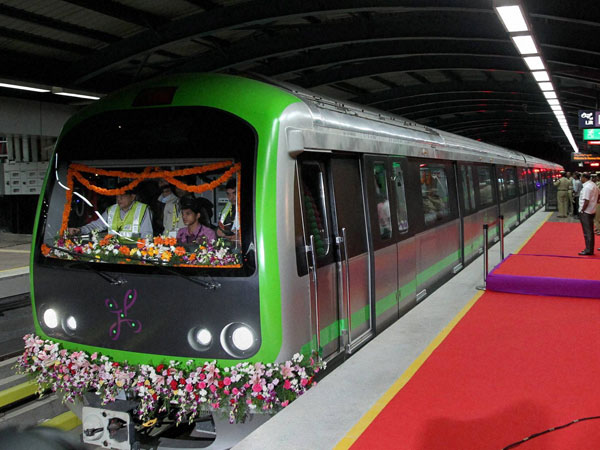 Image result for pranab mukherjee metro inauguration