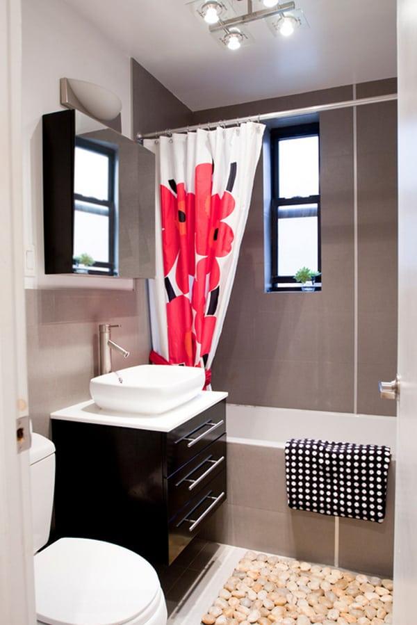 40 Stylish and functional small bathroom design ideas on Small Apartment Bathroom Ideas  id=52883