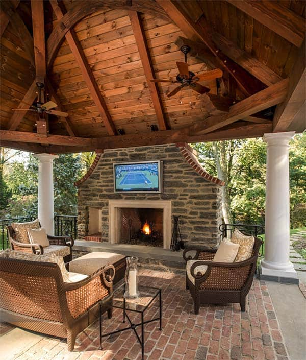 53 Most amazing outdoor fireplace designs ever on Outdoor Fireplaces Ideas  id=24330