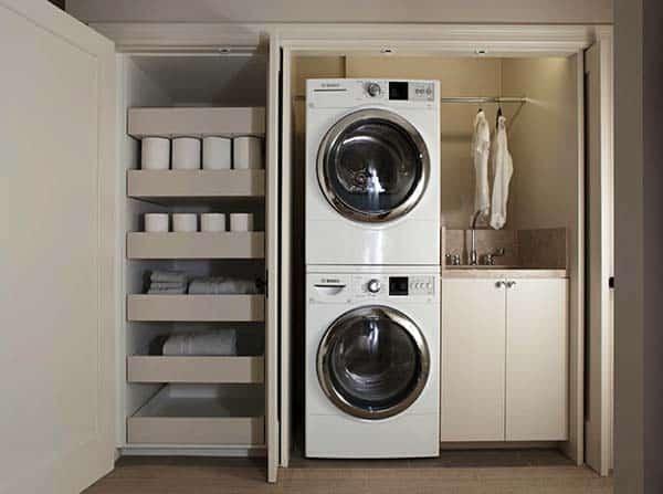 60 Amazingly inspiring small laundry room design ideas on Small Laundry Ideas  id=85790