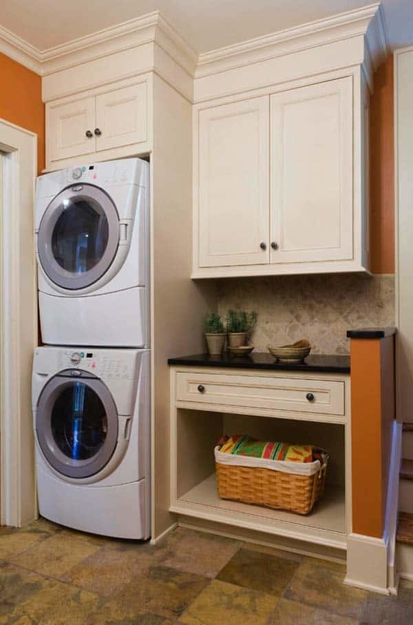 60 Amazingly inspiring small laundry room design ideas on Small Laundry Ideas  id=53993