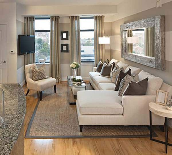 38 Small yet super cozy living room designs on Small Living Room  id=71881