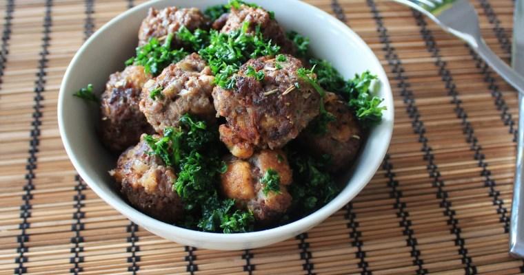 Min Version Af Italienske Kødboller – Hjemmelavede Kødboller