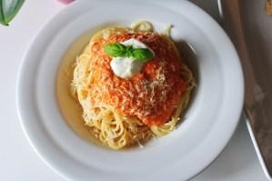 Spaghetti Med Peberfrugtssauce - Opskrift på Peberfrugtsauce
