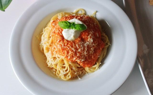 Spaghetti Med Peberfrugtssauce – Opskrift på Peberfrugtsauce