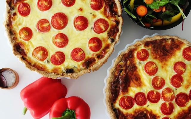 Oksekødstærte Med Peberfrugt – Hjemmelavet Tærte