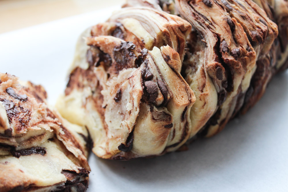 Chocolate Pull-Apart Bread