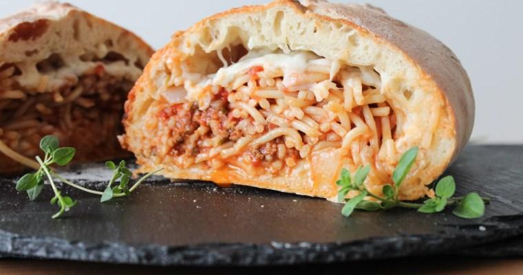 Spaghetti Bolognese Calzone