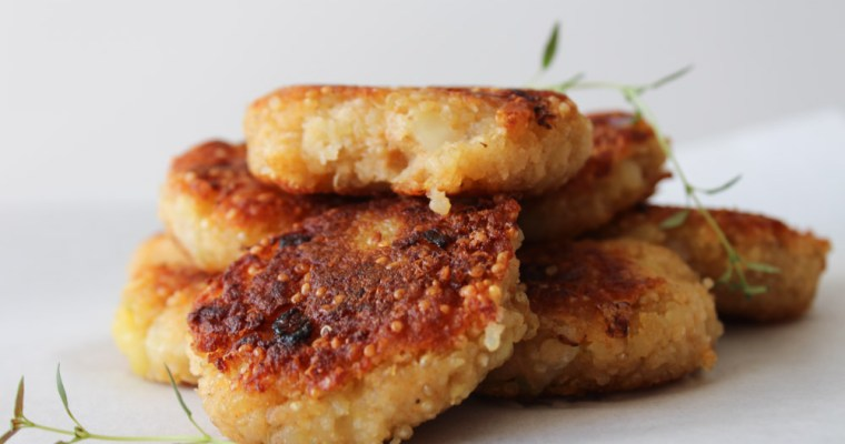 Quinoa And Potato Cakes