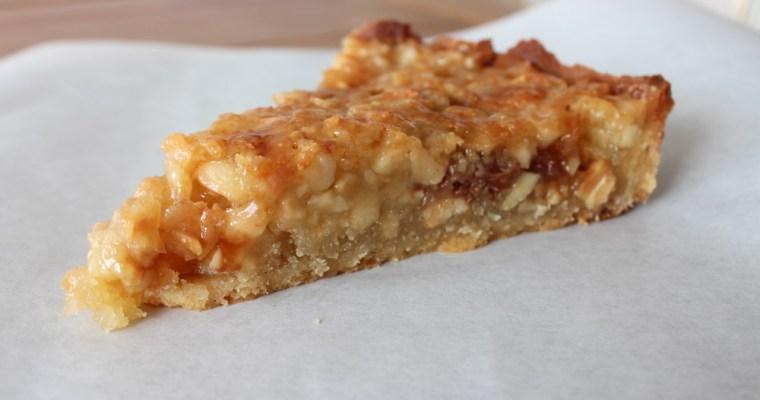 Almonds, Marzipan And Daim Tart