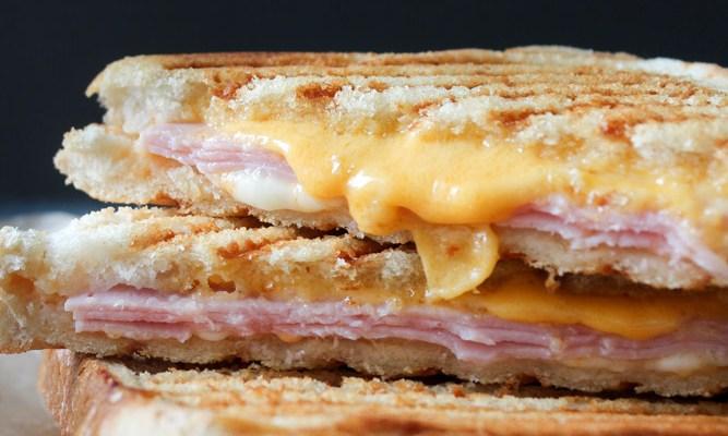 Chili Mayo, Ham And Cheese Toast