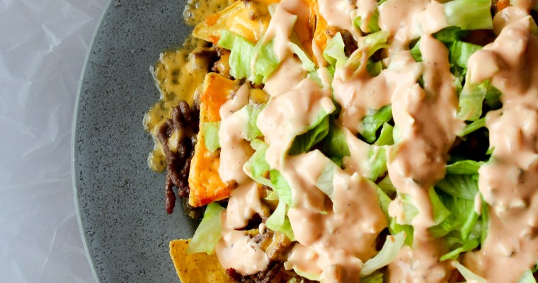 Big Mac Nachos