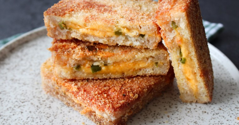 Chili Cheese Top Grilled Cheese